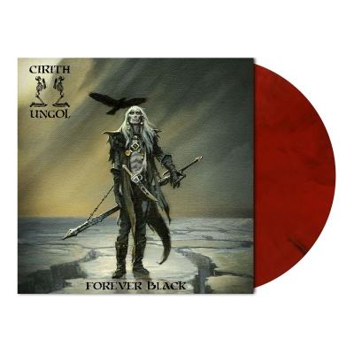 shop - Forever Black | Red/Black Marbled Vinyl