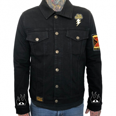 Hank Von Hell - Tiger Jacket+Patch Set Bundle