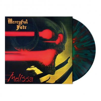 Mercyful Fate - Melissa | Green/Blue Circle w/Red Splatter Vinyl