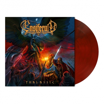 shop - Thalassic | Red/Black Marbled Vinyl