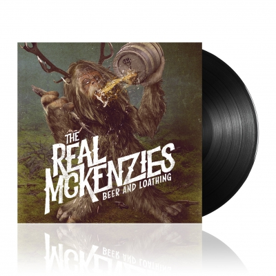 The Real McKenzies - Beer And Loathing | Black Vinyl