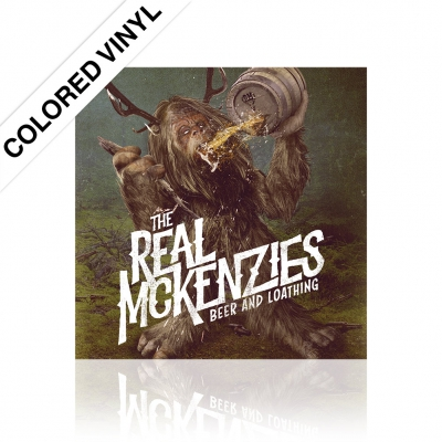 The Real McKenzies - Beer And Loathing | Colored Vinyl