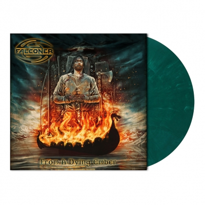 Falconer - From A Dying Ember | Turquoise Green Marbled Vinyl