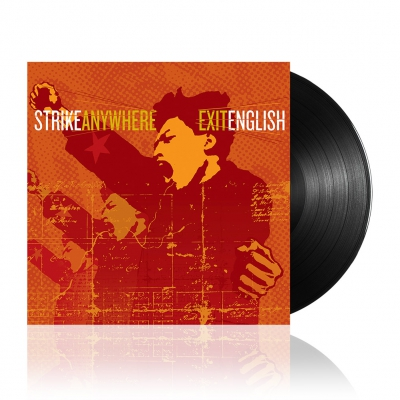 Strike Anywhere - Exit English | Black Vinyl