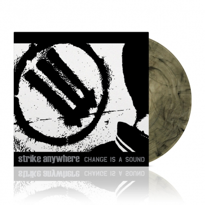 Strike Anywhere - Change Is A Sound | Clear w/Black Vinyl