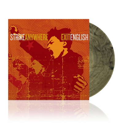Strike Anywhere - Exit English | Clear w/Black Vinyl