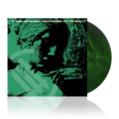 Strike Anywhere - Nightmares Of The West | Green in Doublemint Vinyl