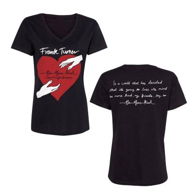 frank-turner - Be More Kind From A Safe Distance   Girl V-Neck