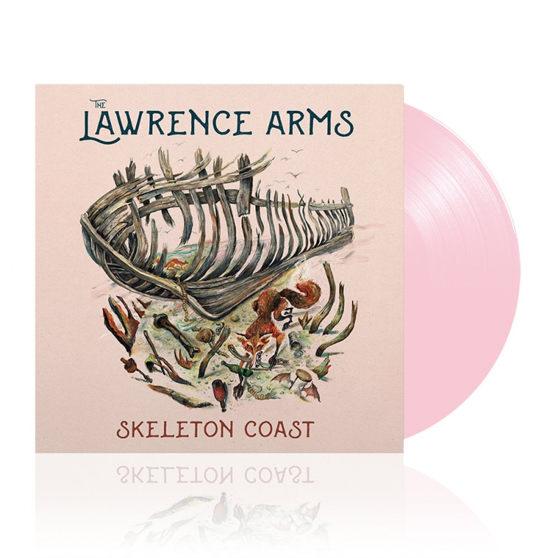 The Lawrence Arms - Skeleton Coast | Pink Vinyl