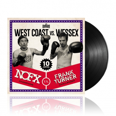 NOFX/Frank Turner - West Coast vs. Wessex | Black Vinyl