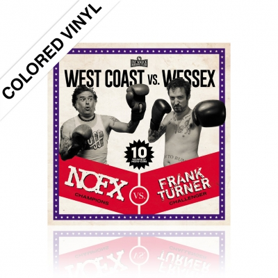 NOFX/Frank Turner - West Coast vs. Wessex | Colored Vinyl
