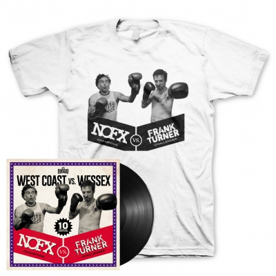 NOFX/Frank Turner - West Coast vs. Wessex | Black Vinyl+T-Shirt Bundle