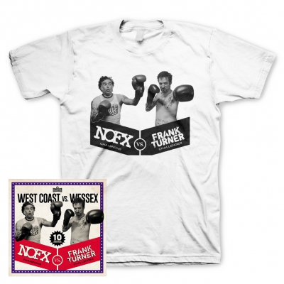 NOFX/Frank Turner - West Coast vs. Wessex | CD+T-Shirt Bundle
