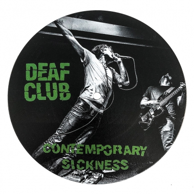 Deaf Club - Contemporary Sickness - Cover 1 | 7 Inch