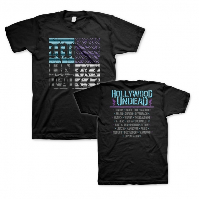 Hollywood Undead - Static EU Tour 2020 | T-Shirt