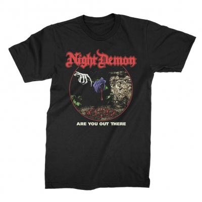 night-demon - Are You Out There | T-Shirt
