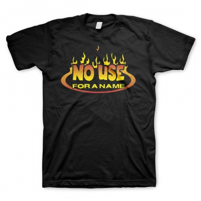 No Use For A Name - Fire Logo | T-Shirt