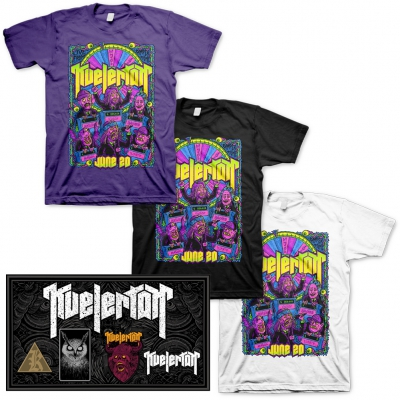 Kvelertak - Live From Amper Tone Studio |3x T-Shirt + Enamel Pin Set Bundle