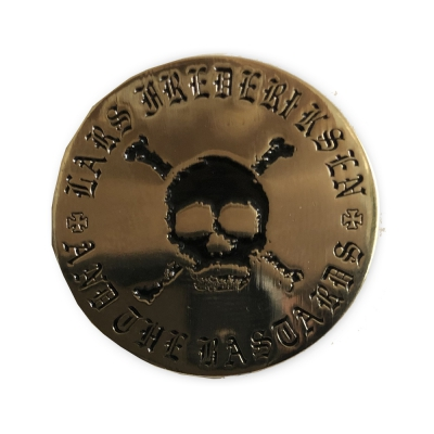 Lars Frederiksen & The Bastards - Skull Gold | Enamel Pin