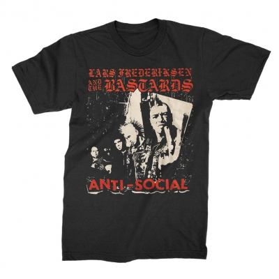 Lars Frederiksen & The Bastards - Anti-Social | T-Shirt