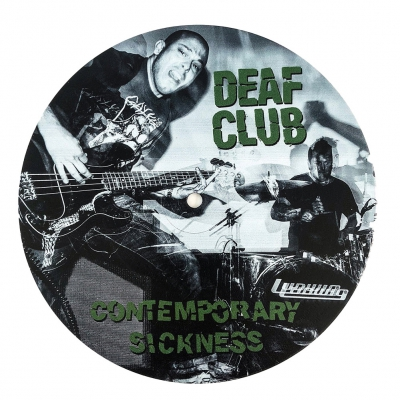 Deaf Club - Contemporary Sickness - Cover 2 | 7 Inch