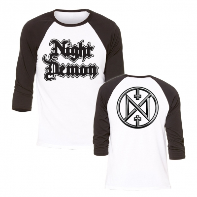 Night Demon - Symbol | 3/4 Baseball Longsleeve
