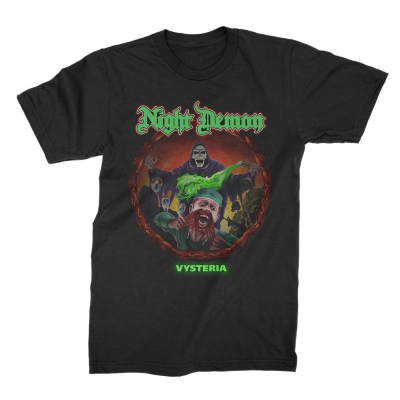 Night Demon - Vysteria | T-Shirt