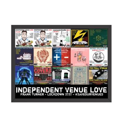 Frank Turner - Independent Venue Love | Print