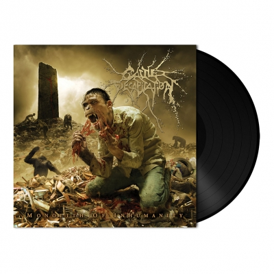 shop - Monolith of Inhumanity | 180g Black Vinyl