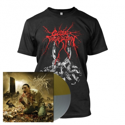 Cattle Decapitation - Monolith of Inhumanity | Precious Metal Split Vinyl Bundle