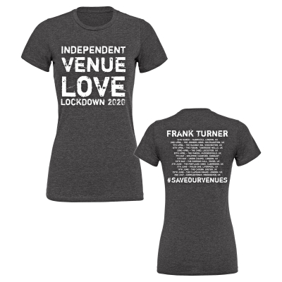 Frank Turner - Independent Venue Love | Girl Fitted  T-Shirt