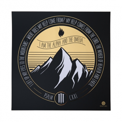 Mountain | Foiled Art Print