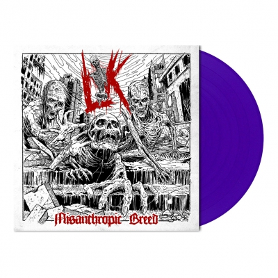 Lik - Misanthropic Breed | Purple Vinyl