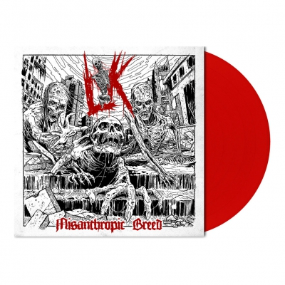 Lik - Misanthropic Breed | Opaque Red Vinyl