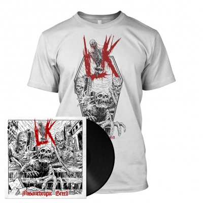 Lik - Misanthropic Breed | Black LP Bundle