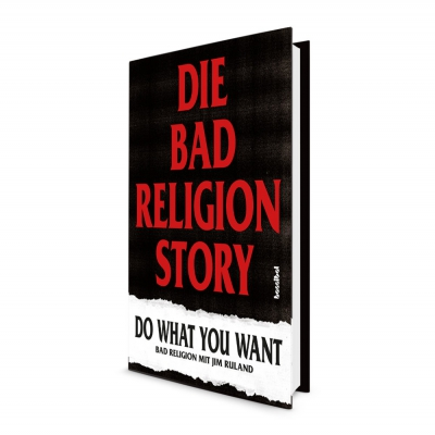 bad-religion - Die Bad Religion Story - Do What You Want | Book