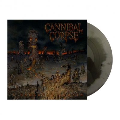 cannibal-corpse - A Skeletal Domain | Grey/Black A/B Vinyl