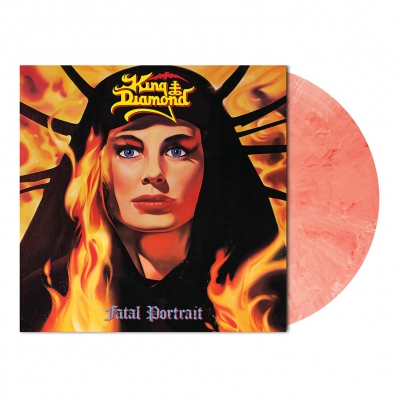 King Diamond - Fatal Portrait | Red/White Marbled Vinyl