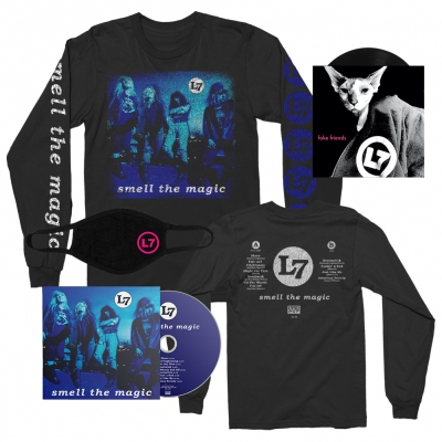 "l7 - Smell The Magic | CD + 7"" + Long Sleeve + Mask Bundle"