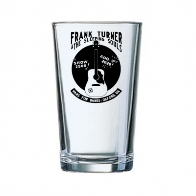 Frank Turner - Show 2500 | Pint Glass