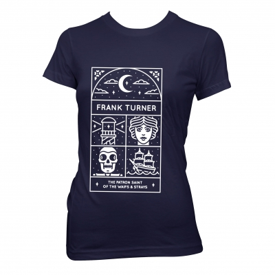 Frank Turner - Patron Saint | Fitted Girl T-Shirt