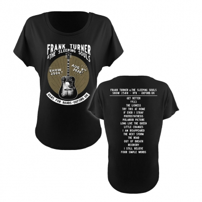 Frank Turner - Show 2500 | Girl Fitted T-Shirt