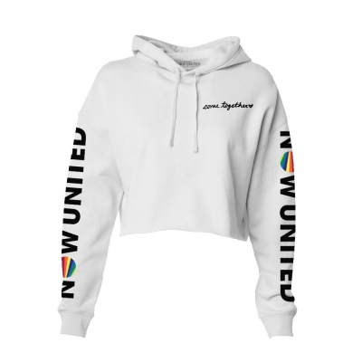 Come Together | Women's Crop Top Hoodie