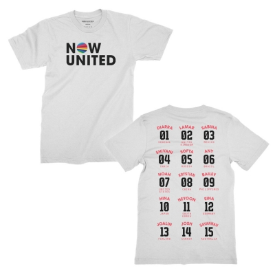 Now United - Numbers | T-Shirt