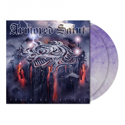 Armored Saint - Punching the Sky | 2xClear Purple/White Vinyl
