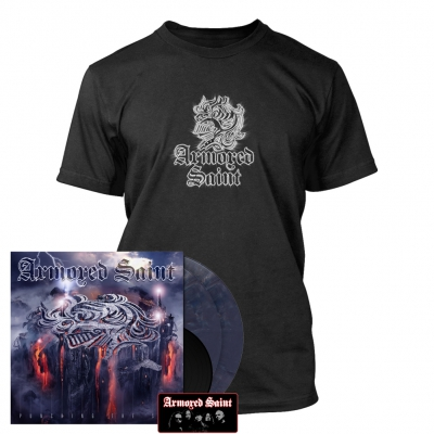 Armored Saint - Punching the Sky | 2xDark Violet Vinyl+7Inch Bundle