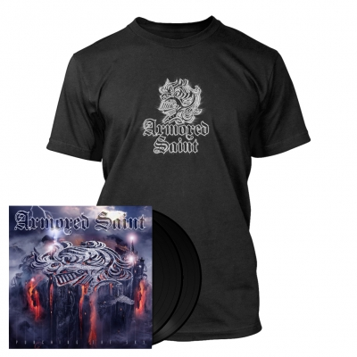 Armored Saint - Punching the Sky | 2x180g Black Vinyl Bundle