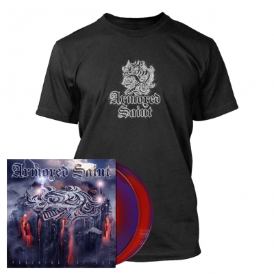 Armored Saint - Punching the Sky | 2xPurple/Red Melt Vinyl Bundle