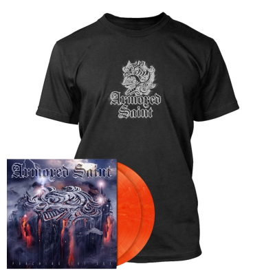 Armored Saint - Punching the Sky | 2xSignal Orange Vinyl Bundle