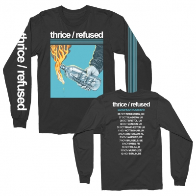 shop - Thrice/Refused Molotov EU Tour 2019 | Longsleeve